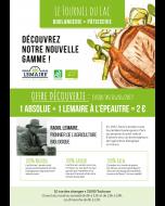 Lot de 500 flyers découverte Lemaire ''certifié bio''
