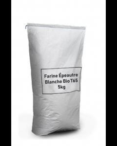 Farine Petit Épeautre Blanche Bio T65 - 5kg