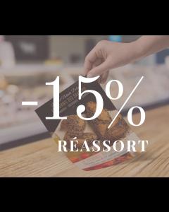 Réassort -15%