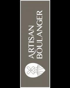 Voile 'Artisan Boulanger' 180x60cm