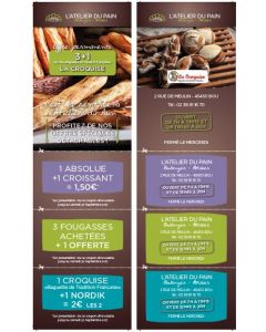 Tracts Coupons - 8,5x29,7cm