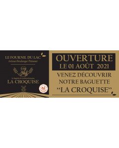 1 Bâche - La Croquise (200x80 - Perso)