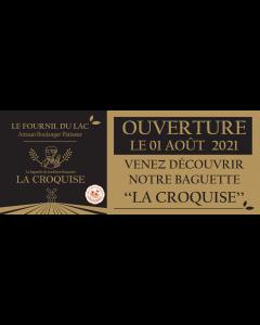1 Bâche - La Croquise (400x100 - Perso)