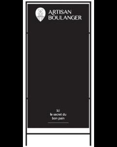 1 Barre-route Artisan Boulanger 120x60cm