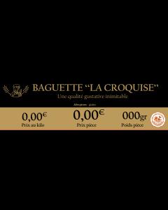 Lot de 15 - Étiquettes prix - La Croquise (Gd format - Perso)