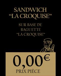 Lot de 30 - Étiquettes prix - La Croquise (Pt format - Perso)