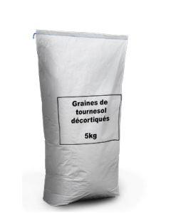 Graines de Tournesol Décortiquées - 5kg