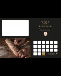 Cartes de fidélité - La Croquise (2 volets - Non perso)