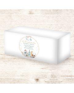 Étiquettes adhésives 9x9cm - Contes Illustrés