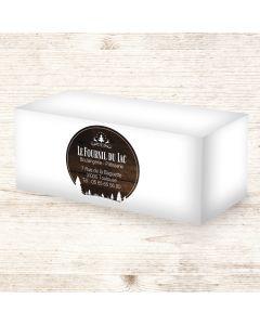 Étiquettes adhésives 9x9cm - Naturellement Boisée