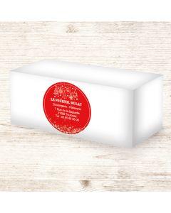 Étiquettes adhésives 9x9cm - Tradi-Moderne
