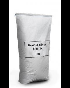 Graines décor Sibérik - 1kg