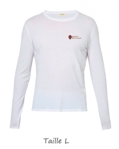 1 T-shirt Blanc Dame (manches longues) TL