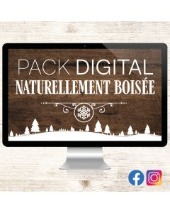 Pack Digital - Naturellement Boisée