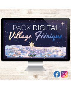 Pack Digital - Village Féérique