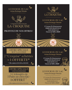 Tracts Coupons - La Croquise (Perso)